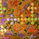 K. Fassett Flower Garden- Detail